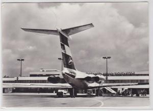 91393 AK Interflug Flughafen Berlin-Schönefeld II 62 vor d. Passagierabfertigung
