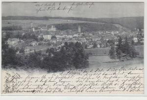 68775 Ak Porrentruy Pruntrut Schweiz Totalansicht 1904