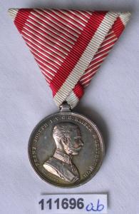 Ehren-Denkmünze für Tapferkeit (Österreich) in Silber (111696)