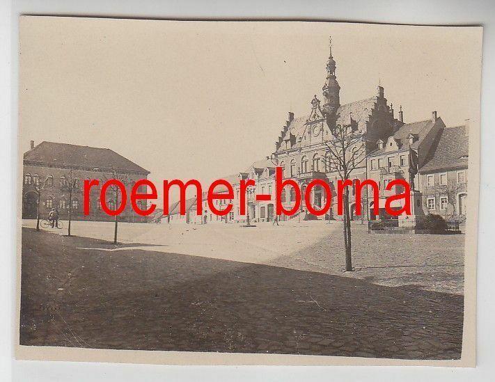 76365 Original Foto Dahlen Markt um 1930 0