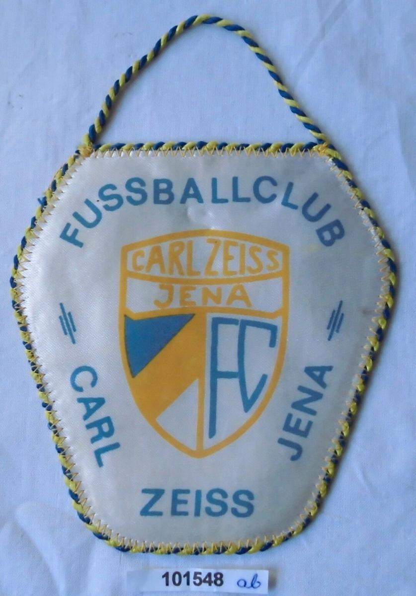 DDR Wimpel Fussballclub Carl Zeiss Jena 1981 (101548) 0