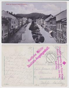 84803 Ak Haag am Hausruck oberer Marktplatz 1915