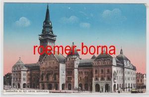 83093 Ak Szabadka Subotica Serbien Sz.kir.Város Székháza um 1910
