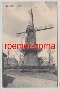 78262 Feldpost Ak Iseghem in Belgien le Moulin Windmühle 1915