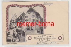 75757 Ak Gruss aus dem Braustübl d. Tucher´schen Brauerei Nürnberg 1929