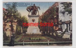 84739 Feldpost Ak Graudenz Bismarck Denkmal am Getreidemarkt 1917