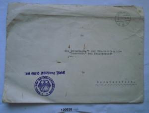 Seltener Brief Braunkohlengrube