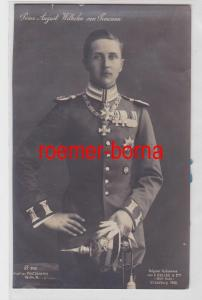 84642 Foto Ak Prinz August Wilhelm von Preussen 1908