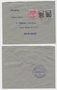 79966 seltener Luftpostbrief Brasilien Rio de Janeiro 1929