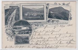 90498 AK Curort Spindelmühle (St. Peter) Friedrichsthal, Spindelmühle & Elbefall