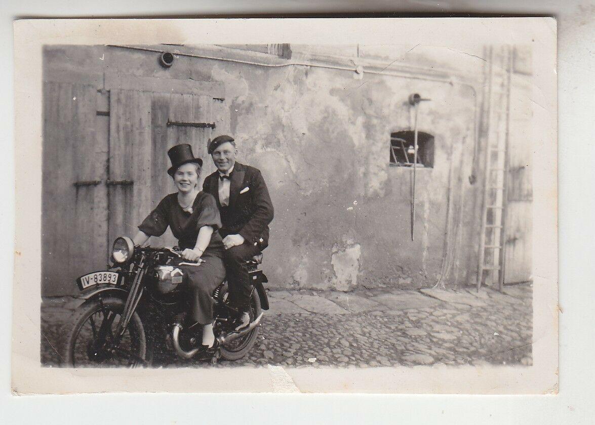 68557 Original Foto Oldtimer Motorrad 1936 0