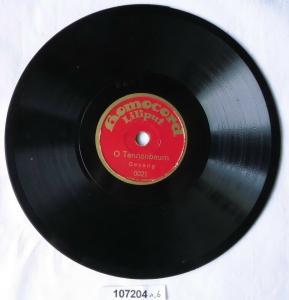 107204 Schellackplatte Homocord Liliput