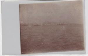 83915 Foto Ak Lissabon Portugal - vom Tajo aus gesehen 1914