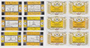 6 Banknoten Notgeld Gemeinde Bilsen 1921 (111968)