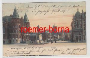 77744 Ak Helsingborg Torget 1904