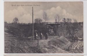 62540 Feldpost AK Gruß aus dem schönen Kurland 1916