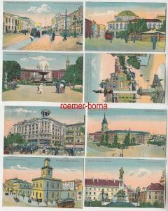 57349 / 8 Ak Warschau Warszawa Künstlerkarten um 1930