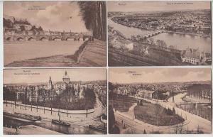 69284/4 Ak Namur Stadtansichten um 1920