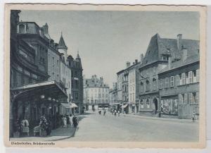 69367 AK Diedenhofen - Brückenstraße Straßenansicht 1944