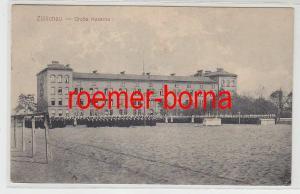 74485 Feldpost Ak Züllichau Sulechów große Kaserne 1916