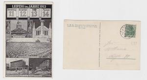 79059 Mehrbild AK Leipzig - Datumsanlasskarte 11.12.13 14 - Anlässe im Jahr 1913