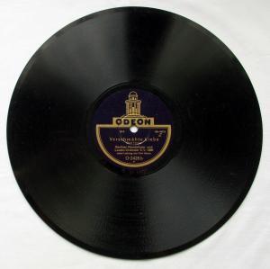 124675 Odeon Schellackplatte Liebestraum n. d. Balle & Verschmähte Liebe um 1930