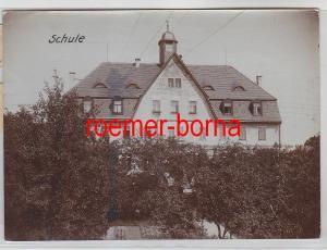 76701 Original Foto Glaubitz Schule um 1910