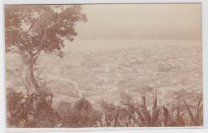 83918 Foto Ak Santos Brasilien vom Montserrat aus gesehen 1914