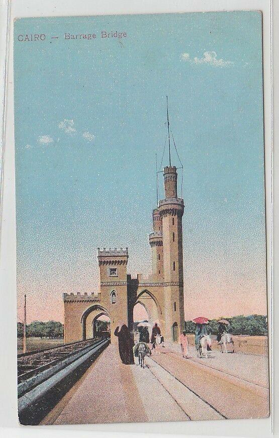70562 Ak Cairo Ägypten Barrage Bridge um 1910 0