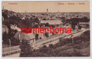 83216 Ak Zemun Zimony Semlin Serbien Totalansicht 1915