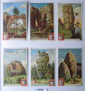 105366 Liebigbilder Serie Nr. 521 Berühmte Felsen 1902