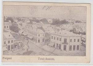 20374 Ak Focsani Rumänien Totalansicht 1917