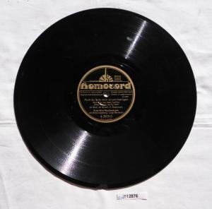 112876 Schellackplatte Homocord
