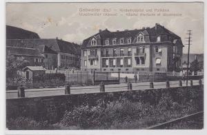 88214 AK Gebweiler (Els.) Guebwiller (Alsace) - Kinderhospital & Poliklinik 1915