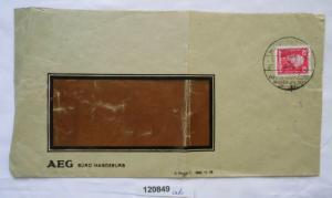 Brief mit Stempel Magdeburg deutsche Theater Ausstellung 1927 (120849)