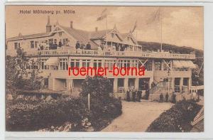 72297 Ak Hotel Mölleberg pr. Mölle Schweden um 1930