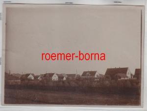 76944 Original Foto Röderau Gohliserstrasse um 1910