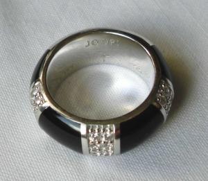 Eleganter Joop! Damen Ring 925er Sterling Silber Amanda Gr. 55/17,5 (120017)