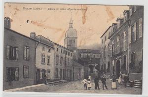 69290 Feldpost Ak Gorze Lothringen Eglise et Asile departementale 1917