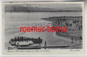 73491 Ak Stausee Ottmachau am Fusse der Sudeten, Strandleben 1909
