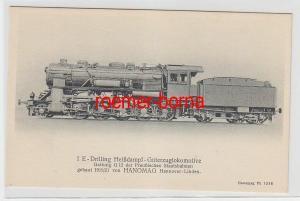 71052 Ak  Hanomag Dampf Lokomotive Güterzuglok G 12 um 1920
