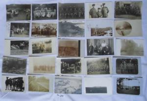100 meist Foto Ansichtskarten Militaer Soldaten 1. Weltkrieg (105740)