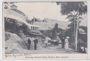 42536 Ak Medlow Bath Australien Motoring, Sun-bath Road 1914