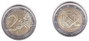 """2 Euro Bi-Metall Münze San Marino """"Kreativität & Innovation"""" 2009 (119204)"""