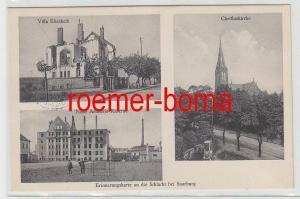 75870 Mehrbild Ak Erinnerungskarte an die Schlacht bei Saarburg Lothringen 1915
