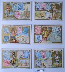 112558 Liebigbilder Serie Nr. 422 Briefmarken II 1899