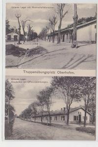 71407 Mehrbild Ak Truppenübungsplatz Oberhofen im Elsass um 1915