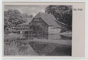 70912 Ak Alte Wassermühle um 1930