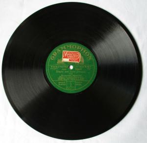 111028 Grammophon Schellackplatte Tord Foleson / Empor zum Licht um 1930