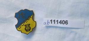 Alte emaillierte Anstecknadel Männergesangverein Borna um 1925 (111406)